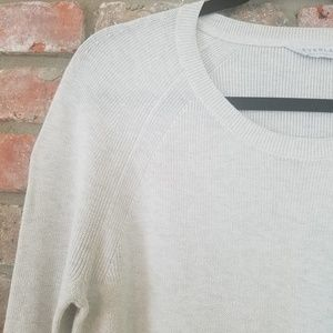 Everlane Sweaters - Everlane Sweater   Top Gray Pullover Long Sleeve